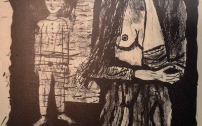 Mutter und Sohn (Lithographie)